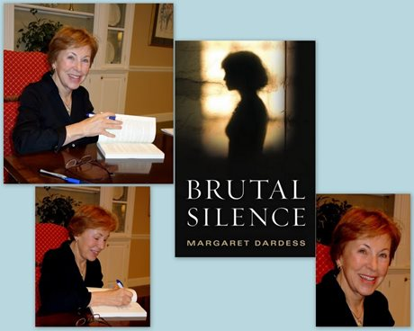 Friends and supporters braved tornado warnings to attend a book signing for Brutal Silence